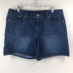 Levis 32 Medium Wash Denim Jean Shorts